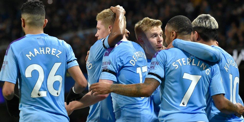 Starting XI Pemain Rekrutan Termahal Di Manchester City